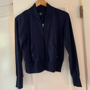 ALO Yoga Jackets & Coats - Alo navy blue bomber jacket. Size S